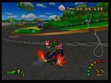 Luigi Circuit Shortcut