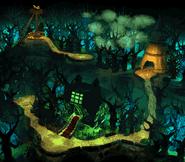 Gloomy Gulch Overworld (Donkey Kong Country 2)