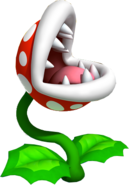 Piranha Plant Artwork (Super Mario 3D Land)