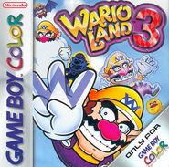 Wario Land 3 EUR cover
