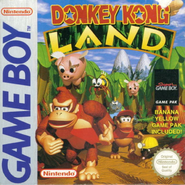 Donkey Kong Land - European Cover