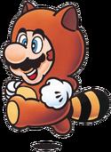 Tanooki Mario Artwork - Super Mario Bros. 3