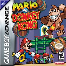 Mario vs. Donkey Kong - North American Boxart