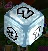 Silver Dice Block