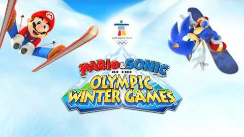 Mario & Sonic at the Olympic Winter Games (DS Adventure Tours Trailer)