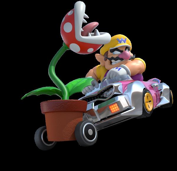 Image Wario Mario Kart 8 Png Mariowiki Fandom