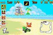 Shy Guy Beach (Crab, Mario Kart Super Circuit)