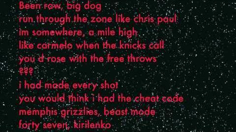 CyHi Da Prynce - Sideways (2K Remix) Lyrics