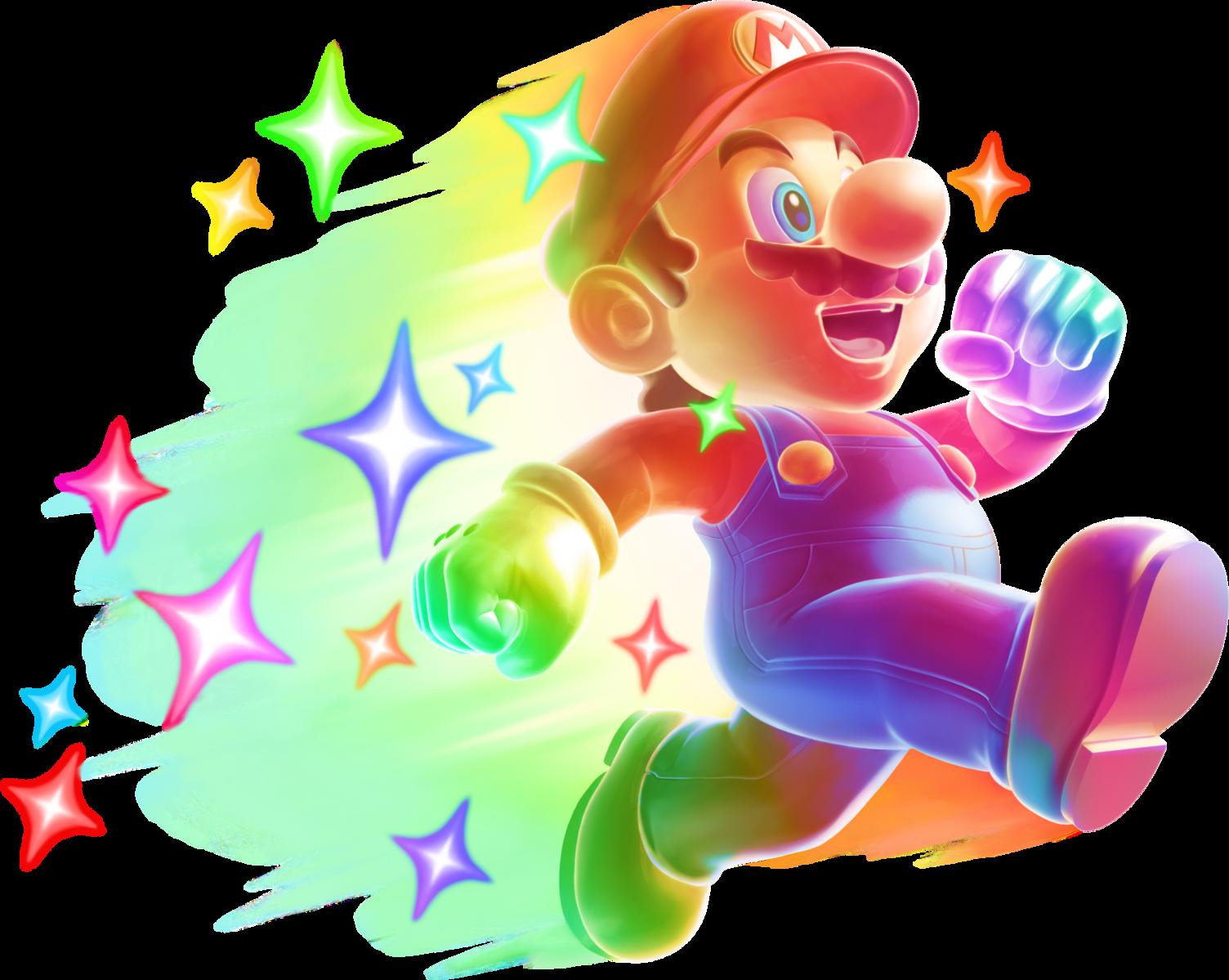 Invincible Mario NSMB2