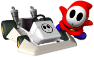 Shy Guy Artwork - Mario Kart DS