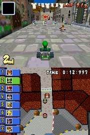 Delfino Square - Luigi Racing - Mario Kart DS