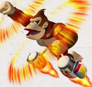 Ultra Barrel Donkey Kong