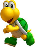 Koopa Artwork (Super Mario 3D Land)