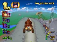 DK Mountain - Downhill Racing - Double Dash!!