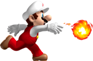 Fire Mario Artwork - New Super Mario Bros