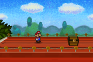 On Top of the Overpass Before Toad Town