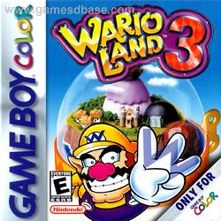 Wario Land 3 - NA Boxart