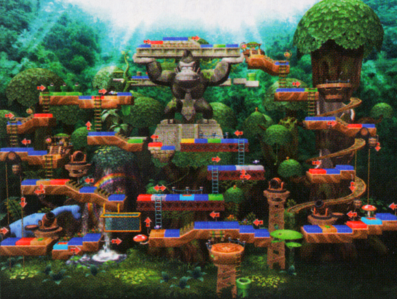 Dk S Treetop Temple Mariowiki Fandom Powered By Wikia