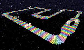 File:SNES Rainbow Road.jpg