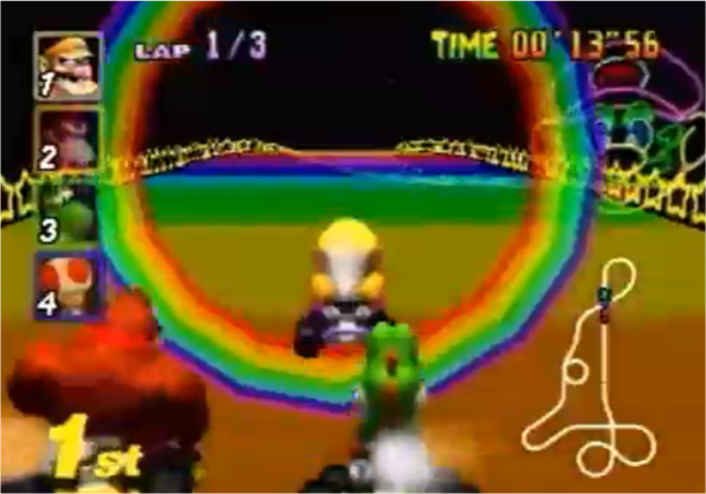 File:MK64 Rainbow Road.png