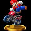 Mario Standard Bike (Super Smah Bros.)