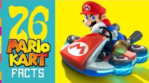 Mario Kart Facts! - It's Super Effective!!! - 26 Massive Facts!