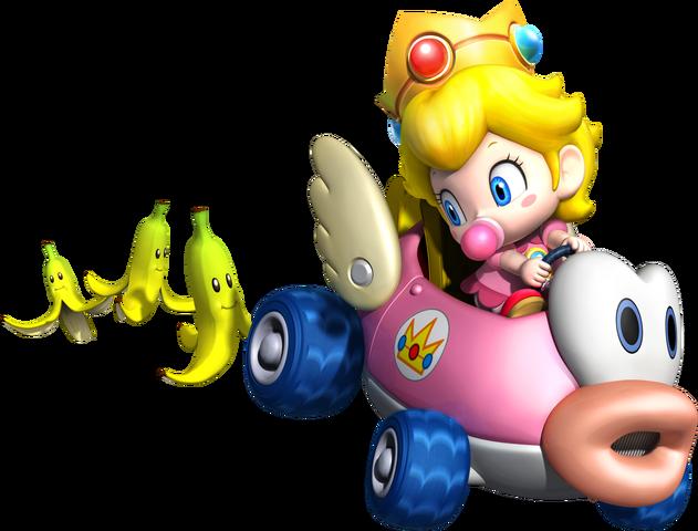File:Baby Peach Artwork - Mario Kart Wii.png