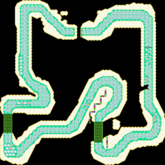 The map of the course in <i><a href=