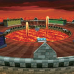 The course in <i>Mario Kart 7</i>.
