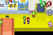 MLSS-Yoshi Theater Screenshot