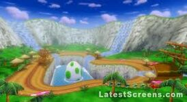 DS Yoshi Falls