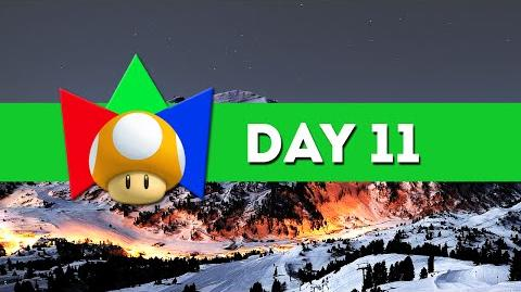Day 11 EVENT - 2015 Winter Mariolympics