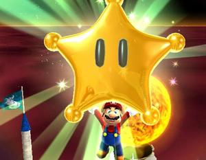 power star super mario galaxy - photo #37