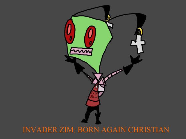 File:Invader zim born again christian by insaneguyofdoom-d4wnx0c.jpg