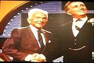 Mark Goodson Shakes Richard Dawson's Hand