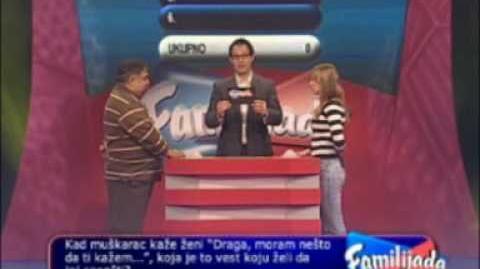 Family Feud (Serbia) - Familijada 26 01