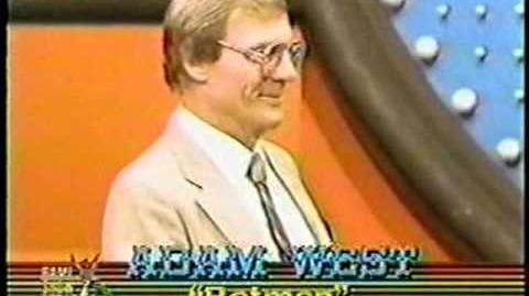 Family Feud (October 30, 1984) Adventure Stars Special