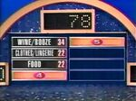Family Feud '94 Survey Board