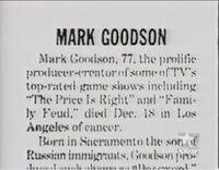 Mark Goodson Bio