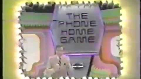 """The Price is Right """"Phone Home Game"""" plug, 1983"""