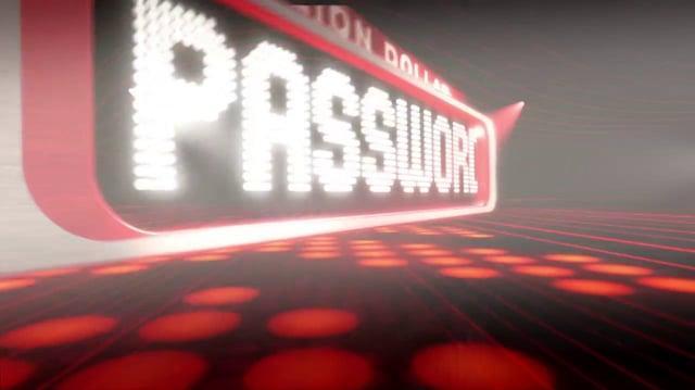 """Million Dollar Password """"Show Open"""""""