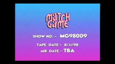 Match Game '98 Opening Theme (HQ Audio)