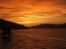 Sonnenuntergang Mochima