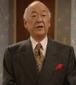 Pat Morita as Mr. Shimokawa