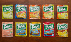 Tang packet flavors