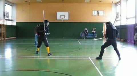 Martial Challenge - Jensen vs. Hagedorn (third video angle)
