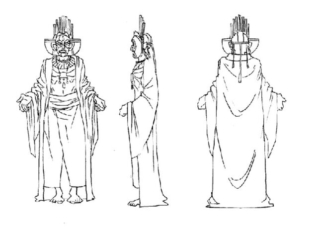File:Martin Mystery - Pilot Episode - Concept Art (Character Design) by Nicolas Vergnaud - Incan God.jpg