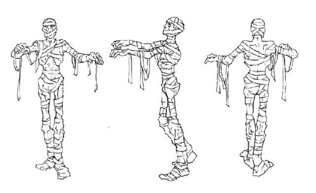 File:Martin Mystery - Pilot Episode - Concept Art (Character Design) by Nicolas Vergnaud - Mummies - 2.jpg