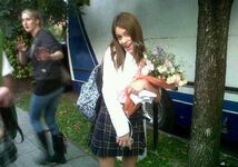 Tini at school