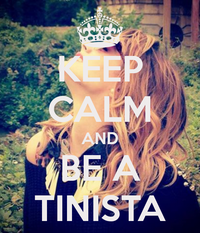 Keep calm and be a Tinista